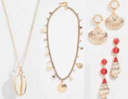 accesorios con conchitas