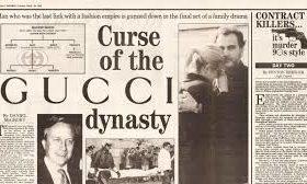 La maldiciones del apellido Gucci