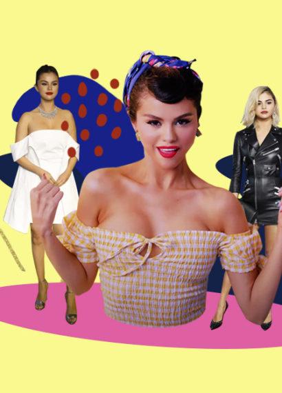 La transición del estilo de Selena Gomez