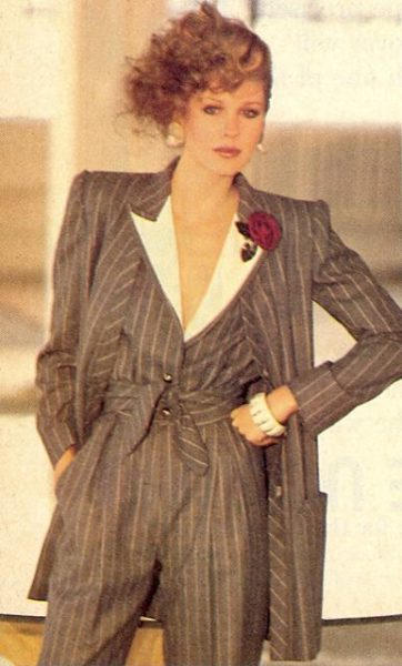 historia del power dressing