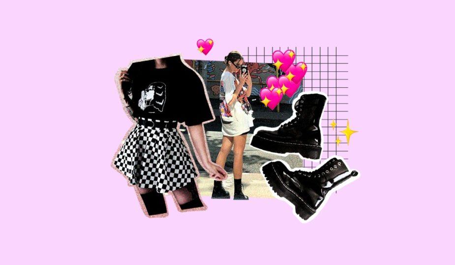 crear un look e-girl
