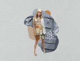 bolsillos en la ropa de mujer