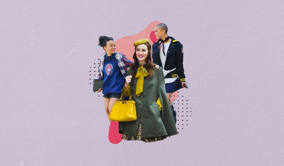 vestuario gossip girl 2021